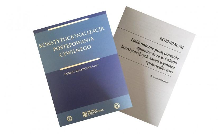 Funkcjonowanie e-sądu a standardy konstytucyjne